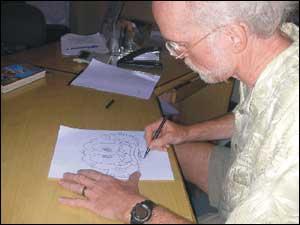 Don Rosa faz desenho para o UHQ