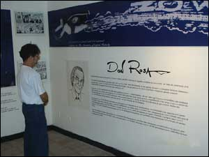 Exposição Don Rosa, no 6º FIHQ-PE