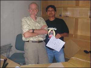 Don Rosa e Marcus Ramone