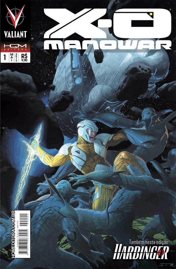 X-O Manowar # 1, da HQM Editora