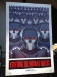 Cartaz - Fighting the mutant threat