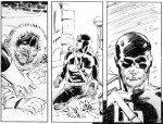 Detalhe de uma cena de Daredevil - Dark Knights # 3