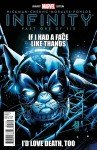"Capa de Infinity # 1, variante ""Deadpool Grumpy Cat"""