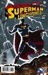 Capa de Superman Unchained # 3 - versão 1930s Superman, de Dave Bullock