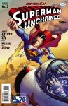 Capa de Superman Unchained # 3 - versão Golden Age Superman, de J. G Jones e Paul Mounts
