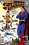 Capa de Superman Unchained # 3 - versão Silver Age Superman, de Brian Bolland
