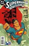 Capa de Superman Unchained # 3 - versão Modern Age Superman, de Cliff Chiang
