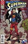 Capa de Superman Unchained # 3 - versão Superman Reborn, de Tom Grummet, Karl Kesel e Hi-Fi