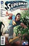Capa de Superman Unchained # 3 - versão New 52 Superman, de Aaron Kuder e Will Quintana