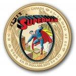 Moeda de ouro do Superman