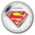 Moeda de prata do Superman