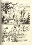 Página em preto e branco de les Aigles de Rome IV
