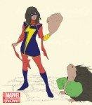 Miss Marvel, arte de Adrian Alphona