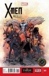 Capa de Olivier Coipel para X-Men Gold # 1
