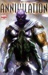 Drax enfrenta Thanos, em Annihilation # 4