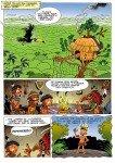Página de Asterix na Amazônia