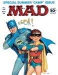 Batman e Alfred na capa da MAD # 105
