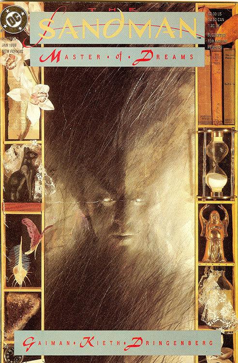 Sandman # 1, capa de Dave McKean