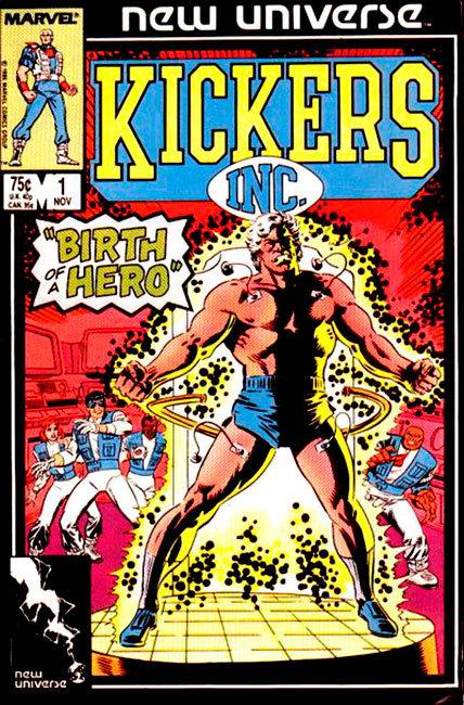 Kickers Inc, para o Novo Universo Marvel