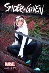 Spider-Gwen # 1, capa Cosplay