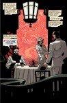 Página de The Shadow - Death of Margo Lane, inspirada numa ilustração de Mead Schaeffer
