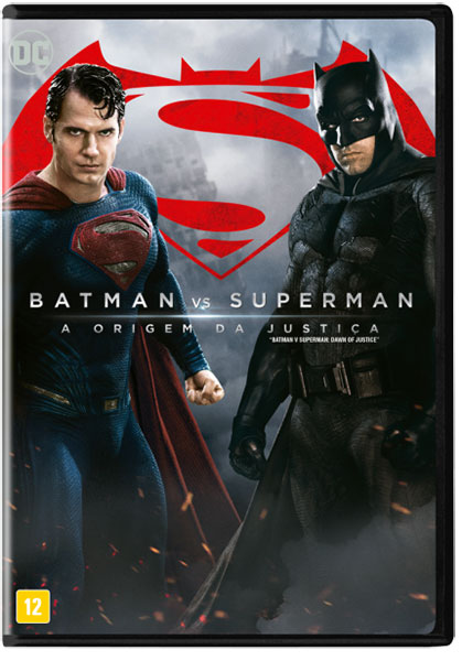 DVD Batman vs. Superman - A origem da justiça