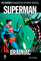 DC Comics Coleção de Graphic Novels - Superman - Brainiac