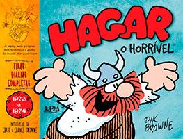 Hagar, O Horrível - Tiras diárias completas # 1 (1973-1974)