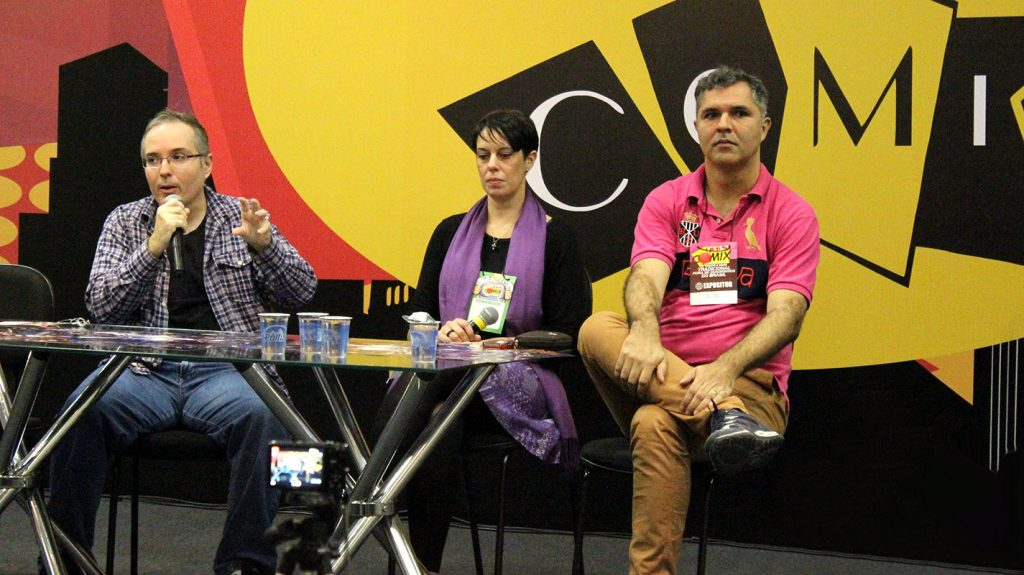 Rodrigo Guerrino, Carol Pimentel e Levi Trindade