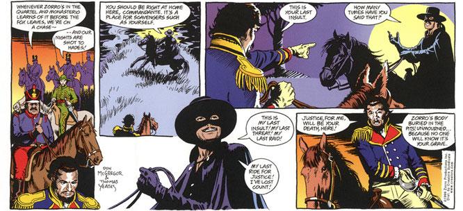 Zorro tiras