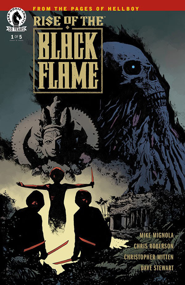 Rise of the Black Flame # 1