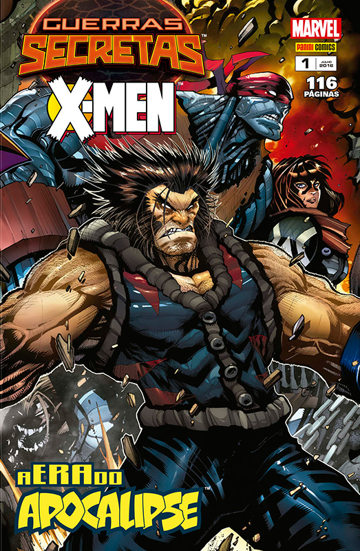 Guerras Secretas - X-Men # 1