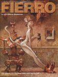 Capa de Carlos Nine para a revista Fierro