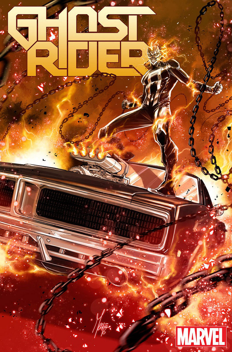 All-New Ghost Rider # 1, arte de Marco Checchetto