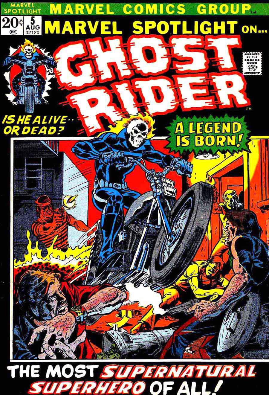 Johnny Blaze, o primeiro Motoqueiro Fantasma