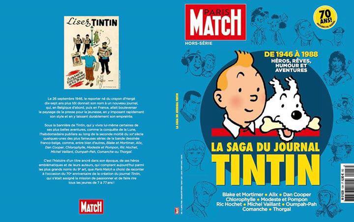 La Saga du Journal Tintin