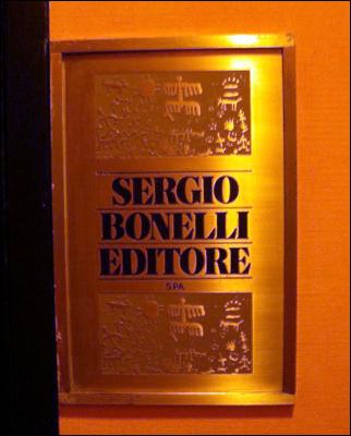 Placa na Sergio Bonelli Editore