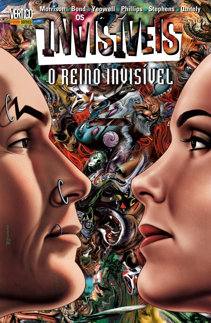 Os Invisíveis – Volume 8 – O Reino Invisível
