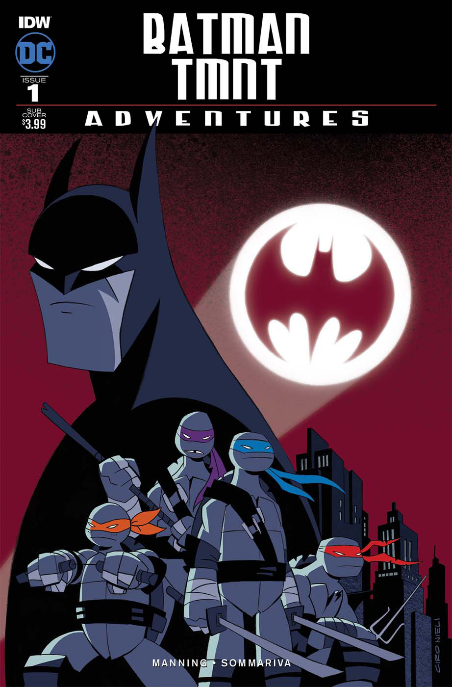 Batman/TMNT Adventures # 1