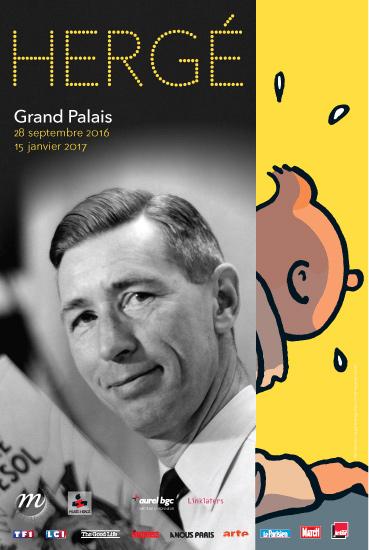 Hergé - Grand Palais