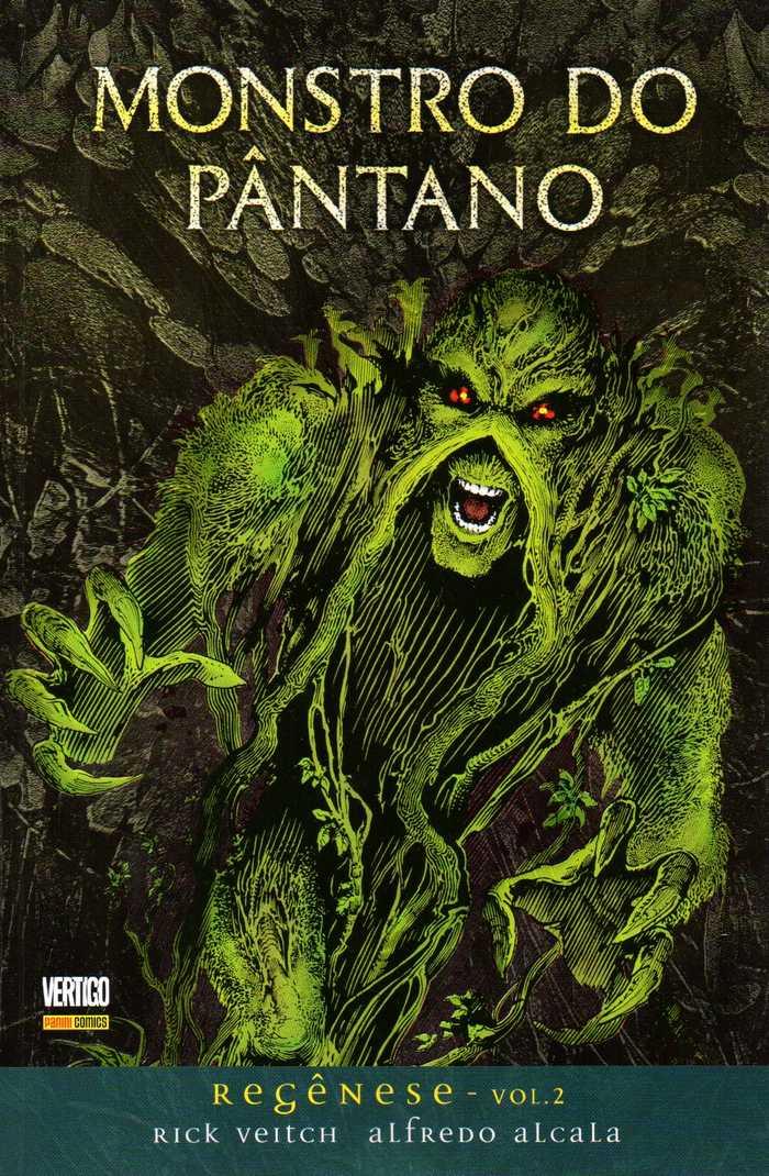 Monstro do Pântano – Regênese – Volume 2