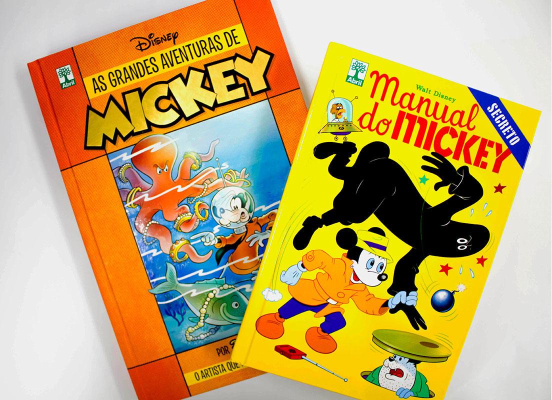 As Grandes Aventuras de Mickey e Manual do Mickey