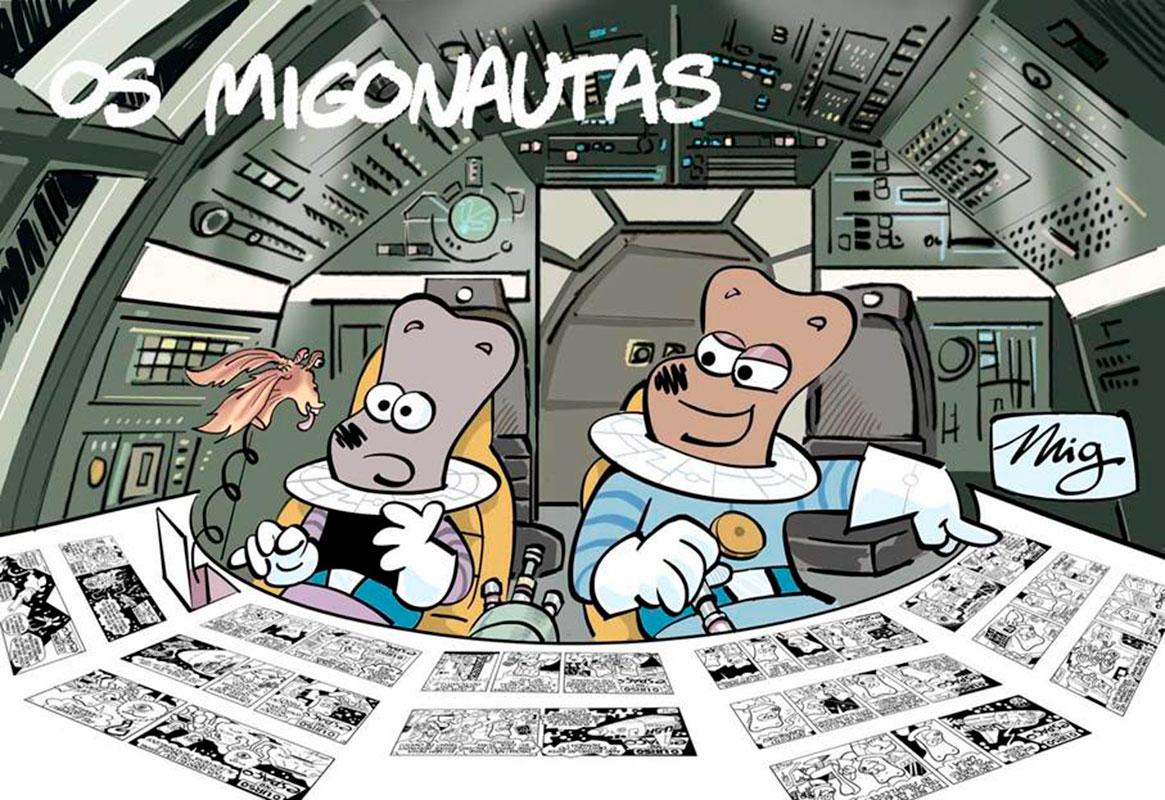 Os Migonautas # 1 – o desesperar da força