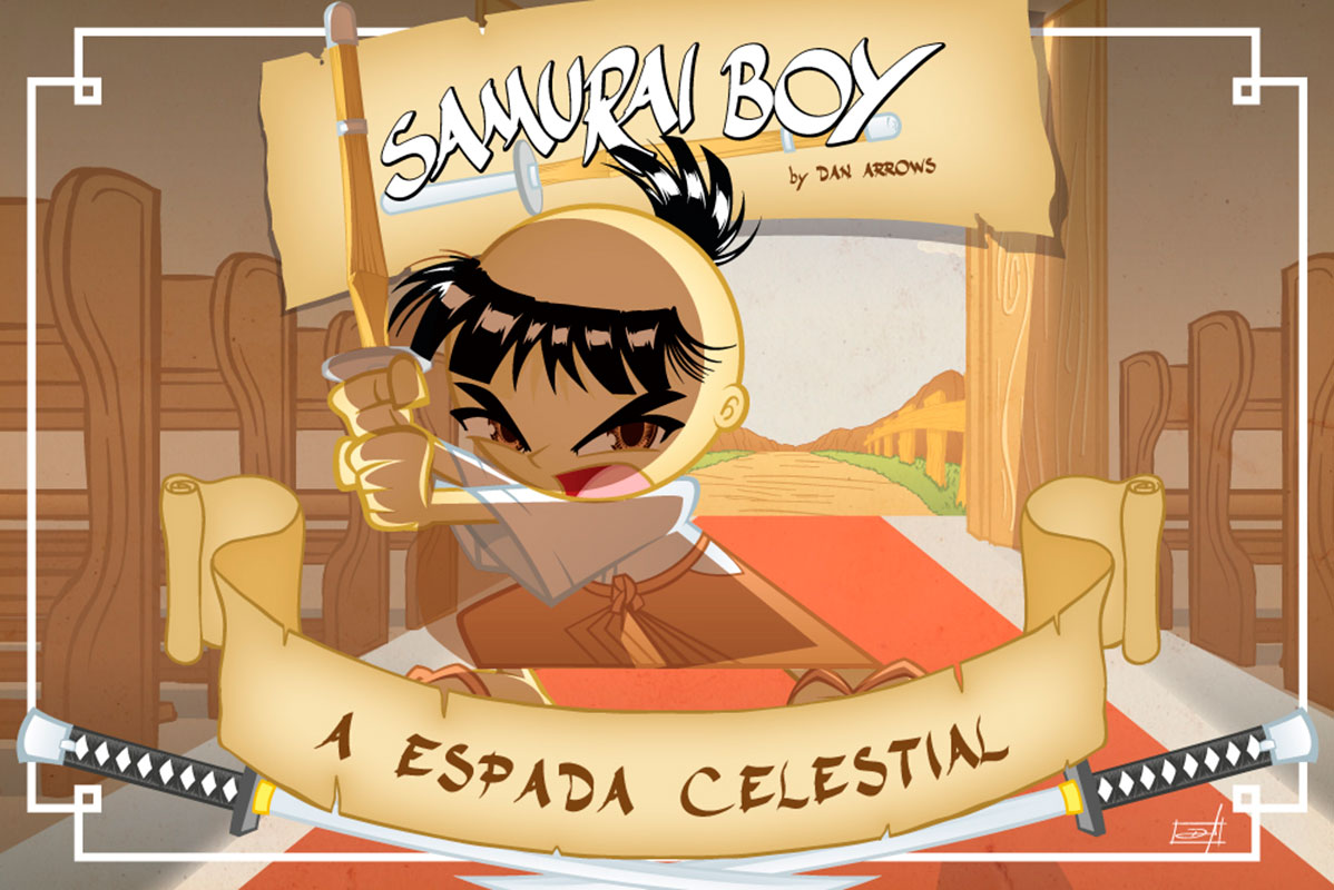 Samurai Boy - A Espada Celestial