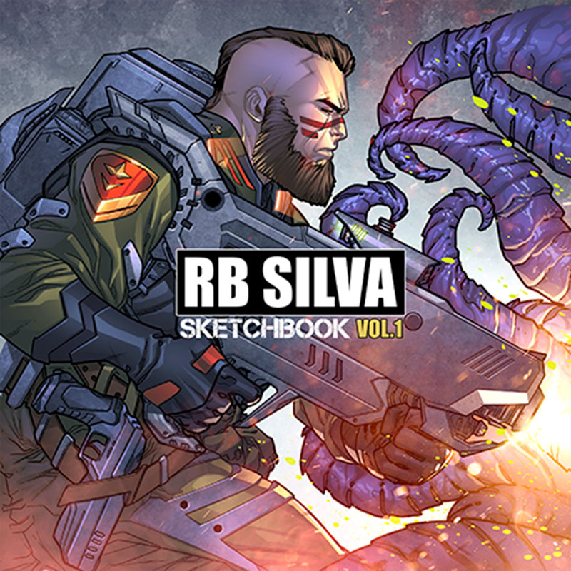 RB Silva Sketchbook - Volume 1