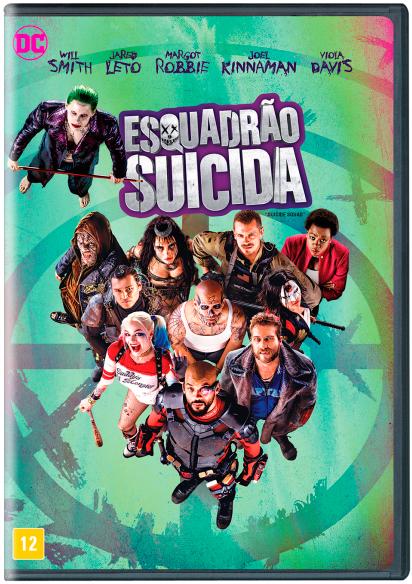 DVD Esquadrão Suicida