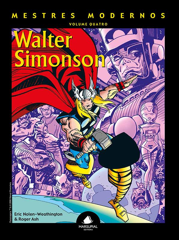 Mestres Modernos – Volume 4 – Walter Simonson