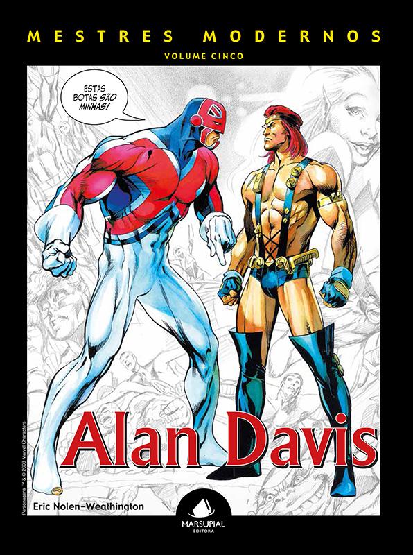 Mestres Modernos – Volume 5 – Alan Davis