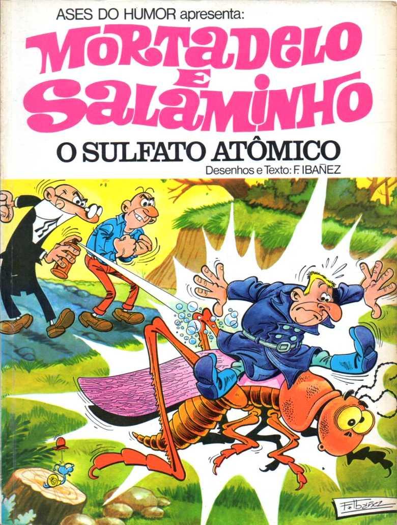 Mortadelo e Salaminho - O sultafo atômico