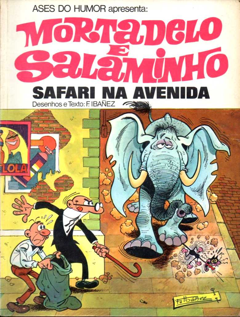 Mortadelo e Salaminho - Safari na avenida